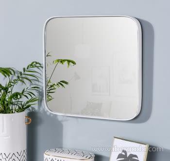 Espejo Cuadrado Zenit Blanco (41x41)