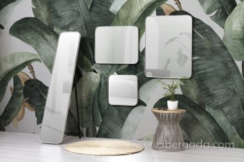 Espejo Rectangular Zenit Plata (50x60) - 2