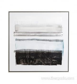 Cuadro Abstracto Oleo I (80x80)