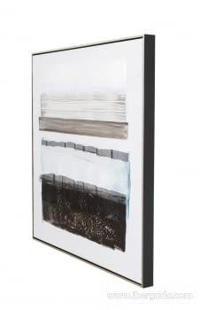 Cuadro Abstracto Oleo I (80x80) - 2