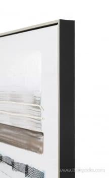 Cuadro Abstracto Oleo I (80x80) - 4