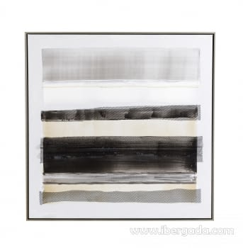 Cuadro Abstracto Oleo II (80x80)