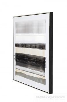 Cuadro Abstracto Oleo II (80x80) - 1