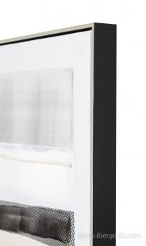 Cuadro Abstracto Oleo II (80x80) - 4