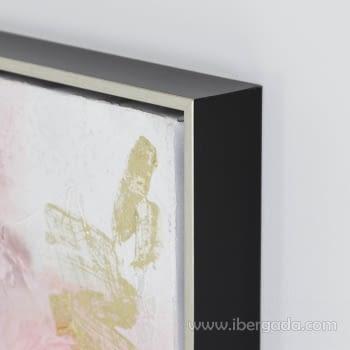 Juego de 2 Cuadros Abstractos Oleo (70x70) - 4