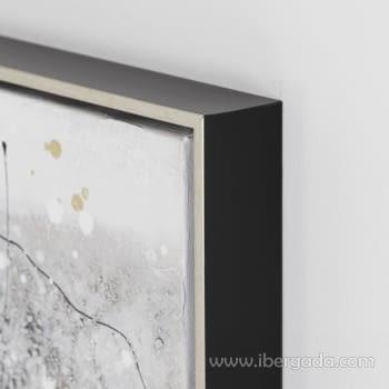Juego de 2 Cuadros Abstractos Oleo (70x70) - 5