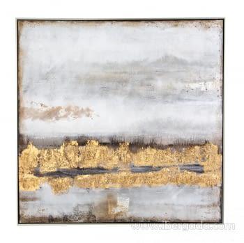 Cuadro Oleo Abstracto (100x100) - 1