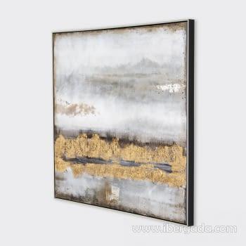 Cuadro Oleo Abstracto (100x100) - 2