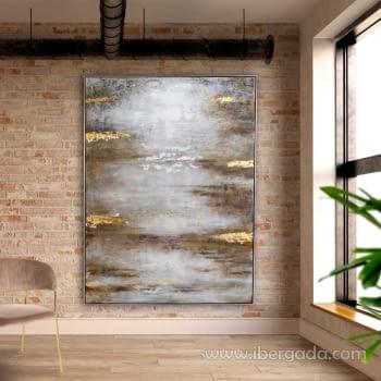 Cuadro Abstracto Gran Formato (200x150)