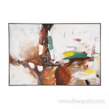 Cuadro Oleo Abstracto (120x80) - 1