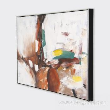 Cuadro Oleo Abstracto (120x80) - 2