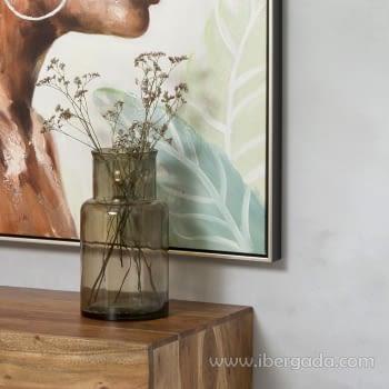 Cuadro Oleo Africana IV (100x100) - 3