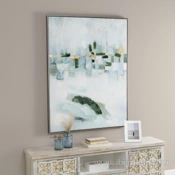 Cuadro Oleo Abstracto (120x90)