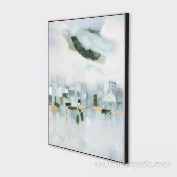 Cuadro Oleo Abstracto (120x90) - 2
