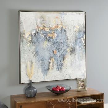 Cuadro Oleo Abstracto (120x120)