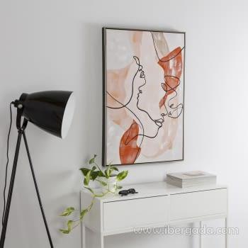 Cuadro Oleo Abstracto (90x60)