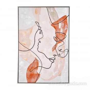 Cuadro Oleo Abstracto (90x60) - 1