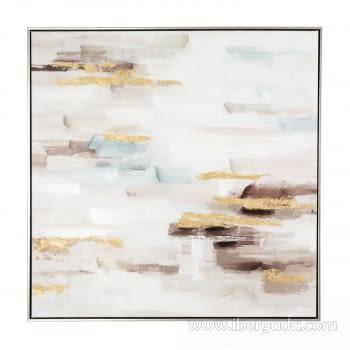 Cuadro Oleo Abstracto (80x80) - 1