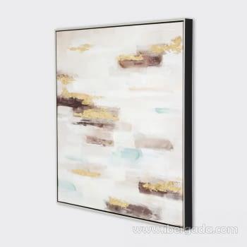 Cuadro Oleo Abstracto (80x80) - 2