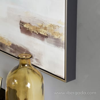 Cuadro Oleo Abstracto (80x80) - 3