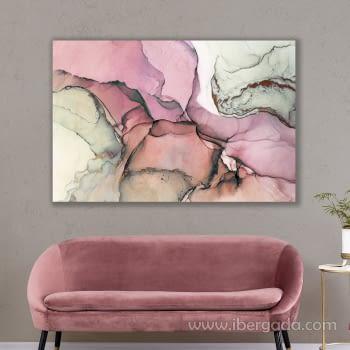 Fotografía Abstracto Rosa (120x80)