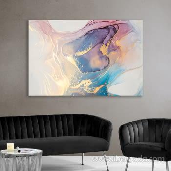 Fotografía Abstracto Multicolor (120x80)