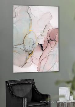 Fotografía Abstracto Rosa II (120x80)