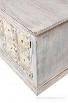 Mueble de TV Ming  2 Puertas 2 Huecos (150x40x58) - 3