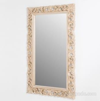 Espejo Rectangular Barroco Crema (155x95) - 2