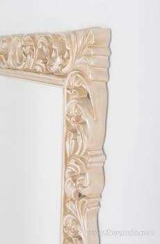 Espejo Rectangular Barroco Crema (155x95) - 3
