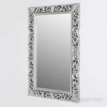 Espejo Rectangular Barroco Plata Patinado (155x95) - 1