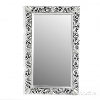 Espejo Rectangular Barroco Plata Patinado (155x95) - 3