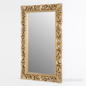 Espejo Rectangular Barroco Oro Patinado (155x95) - 1