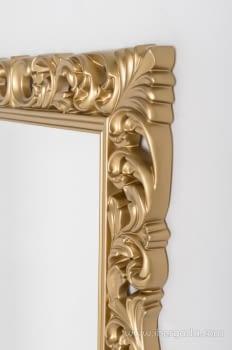 Espejo Rectangular Barroco Oro Patinado (155x95) - 2