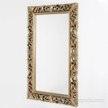 Espejo Rectangular Barroco Oro (155x95) - 2