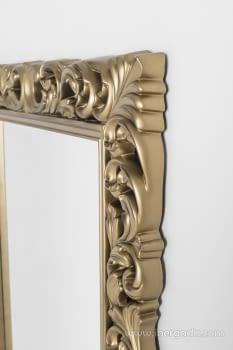 Espejo Rectangular Barroco Oro (155x95) - 3