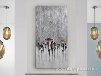 Acrilico Llueve (140x70)