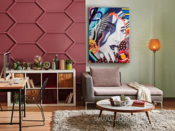 Acrilico Pop Art (120x90) - 1