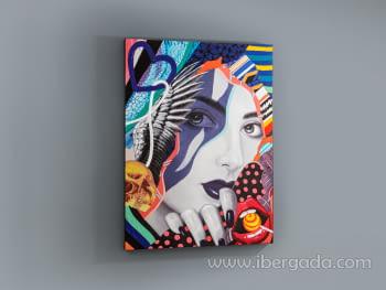 Acrilico Pop Art (120x90) - 2