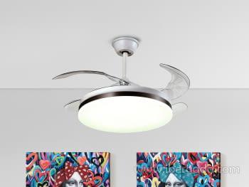 Ventilador Vento Blanco (100x100)