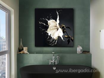 Fotografía  Splash (100x100)