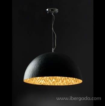 Colgante Magma Oro/Negro - 2
