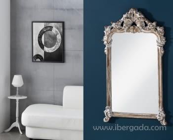 Espejo Anastasia Barroco Anticuario (122x70)