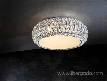 Plafón Diamond Pequeño LED