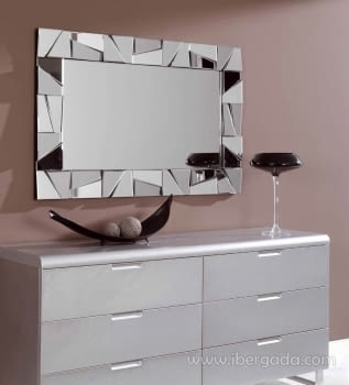 Espejo Rectangular Cristal (120x77)