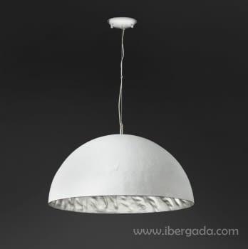 Colgante Magma Plata/Blanco - 2