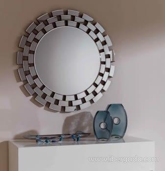 Espejo Redondo Cristal (90x90)