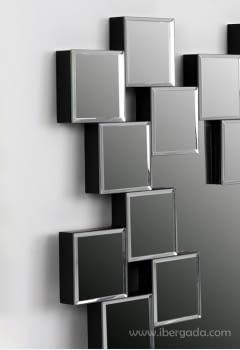 Espejo Rectangular Cristal (120x86) - 1
