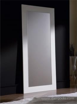 Espejo Rectangular Blanco Vestidor (200x90)