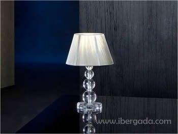 Sobremesa Mercury Transparente LED